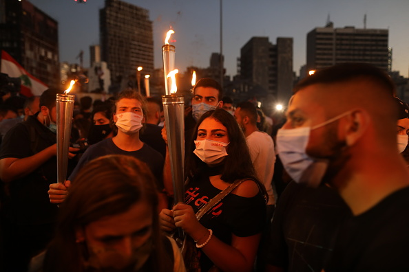 Lebanon - Country「Beirut's Mass Protests: One-Year On」:写真・画像(14)[壁紙.com]