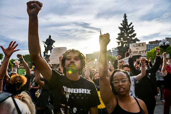 Protest「Protests Continue At Capitol In Denver In Aftermath To Death Of George Floyd」:写真・画像(15)[壁紙.com]