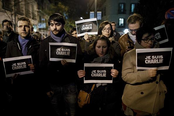 Charlie Hebdo「Global Reaction To The Terrorist Attack On French Newspaper Charlie Hebdo」:写真・画像(10)[壁紙.com]