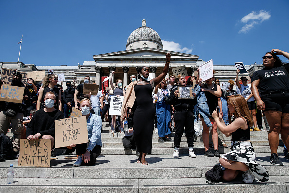 London - England「World Reacts To George Floyd Death」:写真・画像(13)[壁紙.com]