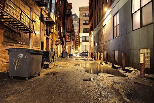 Urban Street at Night:スマホ壁紙(壁紙.com)