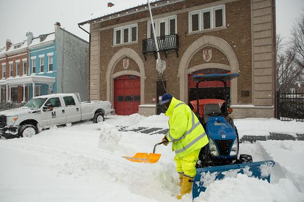 2016 Winter Storm Jonas「Huge Snow Storm Slams Into Mid Atlantic States」:写真・画像(7)[壁紙.com]