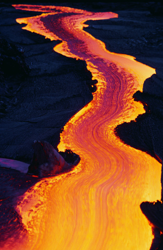 Volcano「River of Lava」:スマホ壁紙(14)