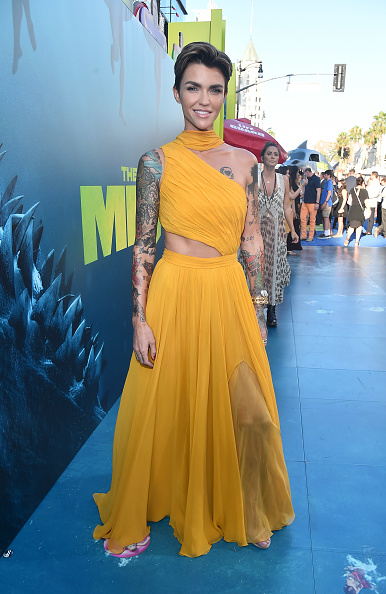 "Event「Warner Bros. Pictures And Gravity Pictures' Premiere Of ""The Meg"" - Red Carpet」:写真・画像(5)[壁紙.com]"