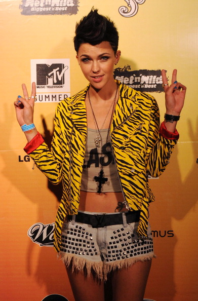 Denim Shorts「MTV Summer Party At Wet N Wild」:写真・画像(14)[壁紙.com]