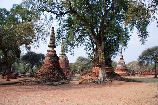 UNESCO「Wat Phra Si Sanphet」:スマホ壁紙(7)
