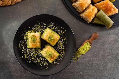 Dessert「Baklava」:スマホ壁紙(10)