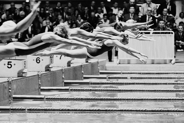 Swimming「XVIII Olympic Summer Games」:写真・画像(19)[壁紙.com]