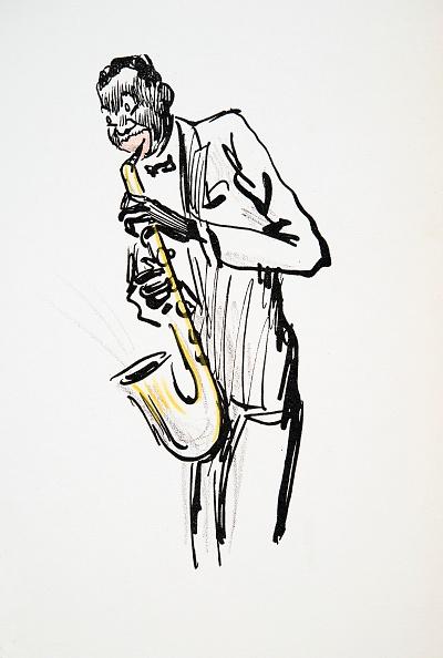 楽器「Saxophone Player」:写真・画像(10)[壁紙.com]
