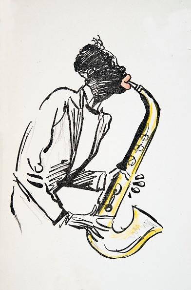 楽器「Saxophone Player」:写真・画像(16)[壁紙.com]