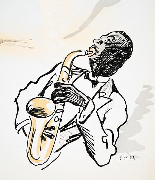楽器「Saxophone Player」:写真・画像(5)[壁紙.com]