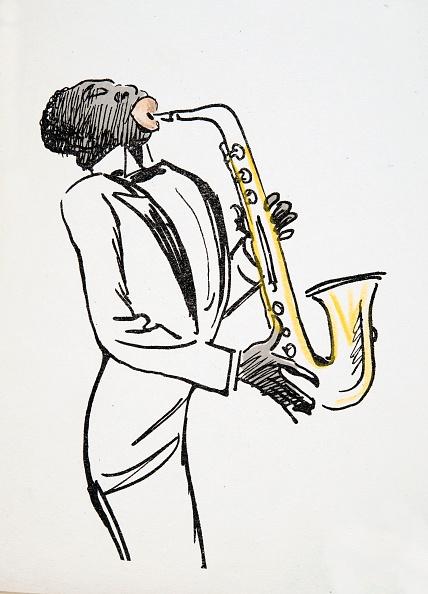 楽器「Saxophone Player」:写真・画像(9)[壁紙.com]