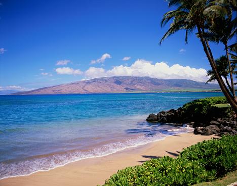 Kihei「Kihei Beach and West Maui Mountains」:スマホ壁紙(19)