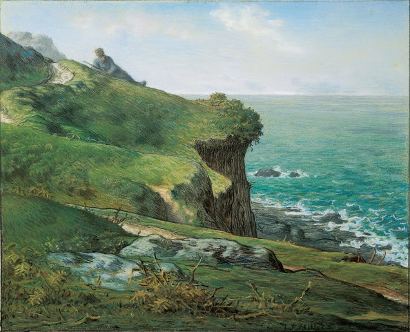 Millet「Cliffs At GrÈville 1871」:写真・画像(15)[壁紙.com]