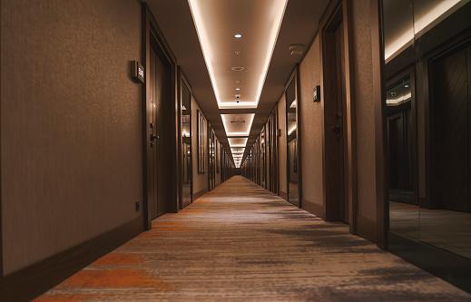 Luxury Hotel「Hotel rooms corridor」:スマホ壁紙(4)