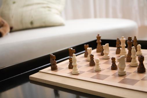 チェス「チェスボード」:スマホ壁紙(19)