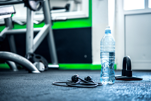 Dumbbell「Gym background with Equipment」:スマホ壁紙(16)
