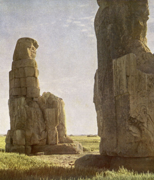 West Bank「Colossi of Memnon at Daybreak.」:写真・画像(5)[壁紙.com]
