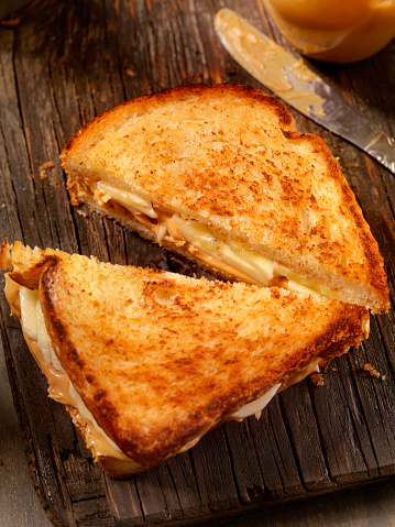 Toasted Sandwich「Grilled Peanut Butter and Banana Sandwich」:スマホ壁紙(17)