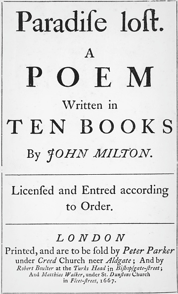 Poetry- Literature「Paradise Lost」:写真・画像(2)[壁紙.com]