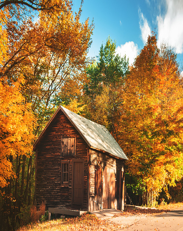 National Park「log cabin in new england」:スマホ壁紙(8)