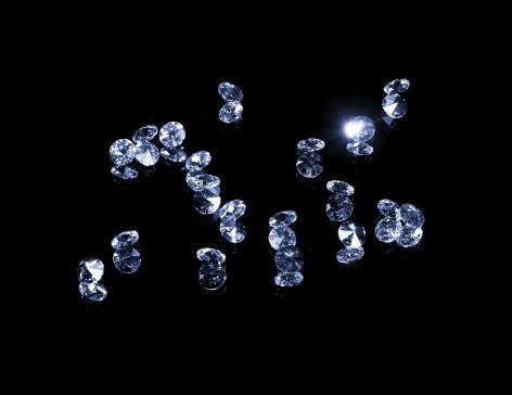 結晶「輝くジェムズ、絶縁にブラック」:スマホ壁紙(11)