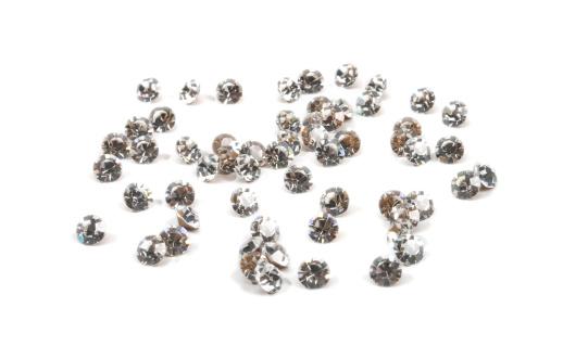 Diamond Shaped「brilliant gems, isolated on white」:スマホ壁紙(19)