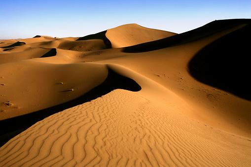 Merzouga「Erg Chebbi dunes in Sahara Desert」:スマホ壁紙(10)