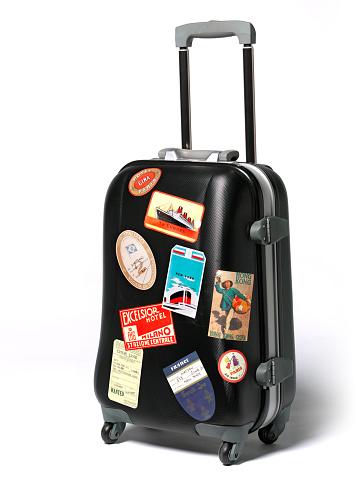 Journey「Travel case stickers on suitcase」:スマホ壁紙(0)