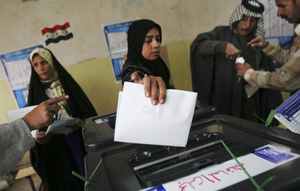 Middle East「Residents Of Sadr City Go To The Polls」:写真・画像(13)[壁紙.com]