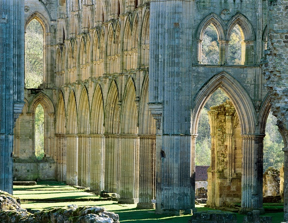 Abbey - Monastery「Rievaulx Abbey, c1990-2010」:写真・画像(19)[壁紙.com]