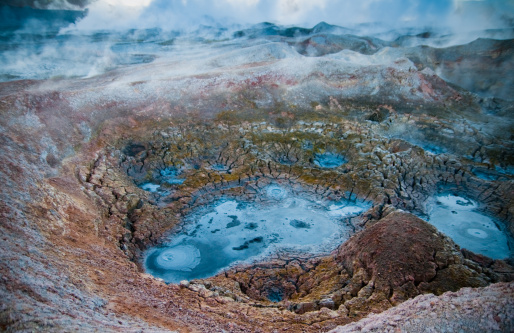 Bolivian Andes「Volcanic Activity」:スマホ壁紙(1)