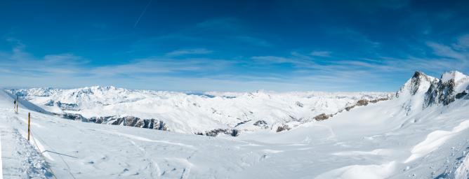 ラグラーブ「La Grave Mountain Panorama」:スマホ壁紙(15)