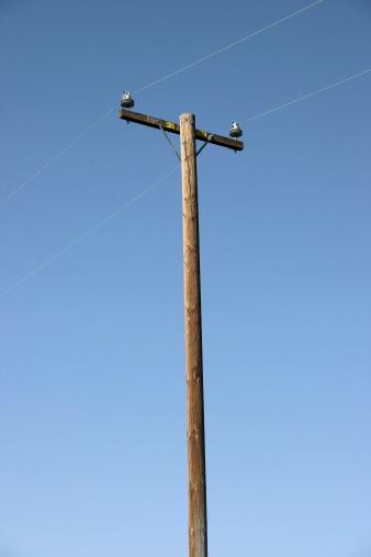Wooden Post「Power pole」:スマホ壁紙(7)