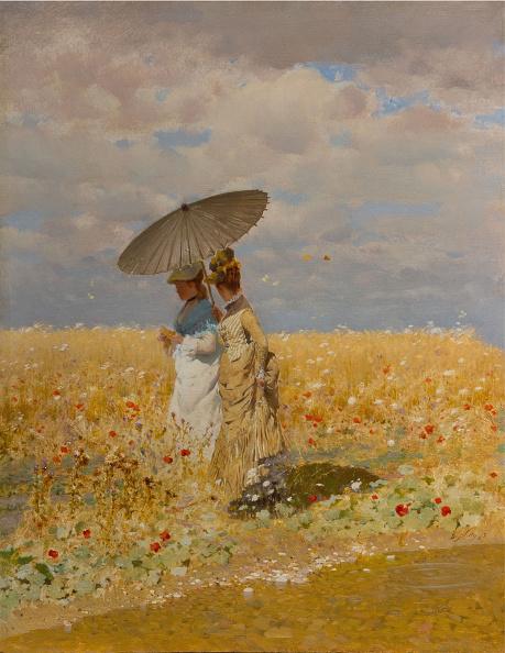 風景(季節別)「Between The Ears Of Wheat.」:写真・画像(15)[壁紙.com]