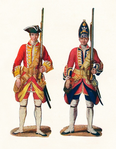 White Background「Uniforms By The British Army 1742 1904」:写真・画像(12)[壁紙.com]