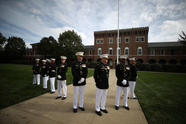 Washington DC「VP Pence Commemorates Anniversary Of 1983 Bombing Of U.S. Marine Barracks」:写真・画像(6)[壁紙.com]