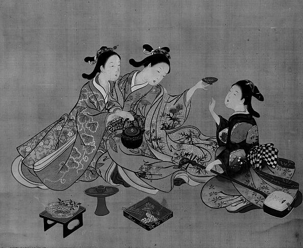 Teapot「Three Girls Having Tea」:写真・画像(11)[壁紙.com]