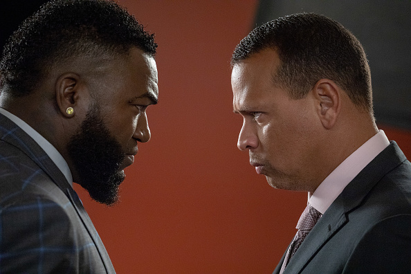 David Ortiz「Mastercard Launches The Keep Moving Challenge With David Ortiz And Alex Rodriguez During The MLB All-Star Game At Nationals Park In Washington, D.C.」:写真・画像(14)[壁紙.com]