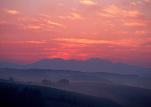 Daisetsuzan Volcanic Group「Morning Glow」:スマホ壁紙(16)