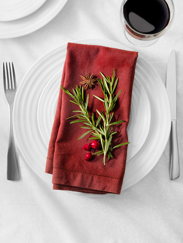 Party - Social Event「Holiday Table Setting」:スマホ壁紙(4)