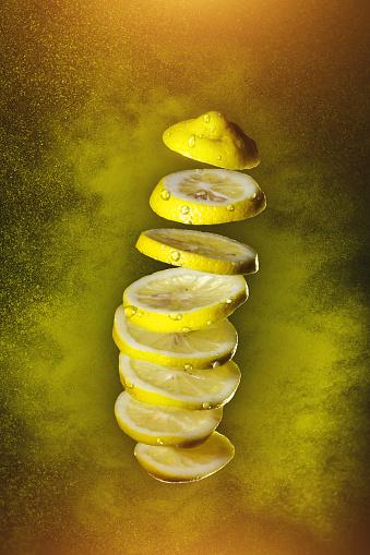 Spraying「Fresh Lemon exploded」:スマホ壁紙(2)