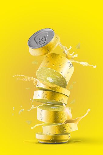 Spraying「Fresh lemon Fruit Can」:スマホ壁紙(10)