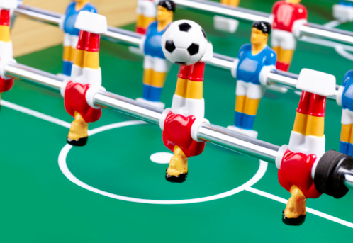 Teamwork「Table football over head kick」:スマホ壁紙(12)