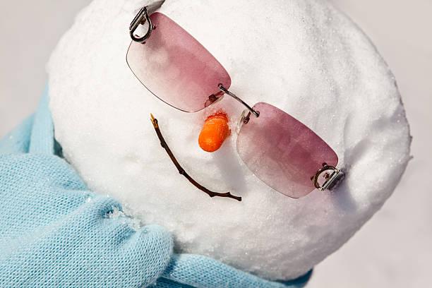 Happy Snowman:スマホ壁紙(壁紙.com)