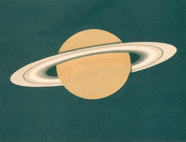 Space and Astronomy「Planeten - Fig2 Saturn」:写真・画像(3)[壁紙.com]