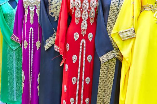 Yellow Dress「Dresses for sale in the Deira Old Souk, Dubai」:スマホ壁紙(6)
