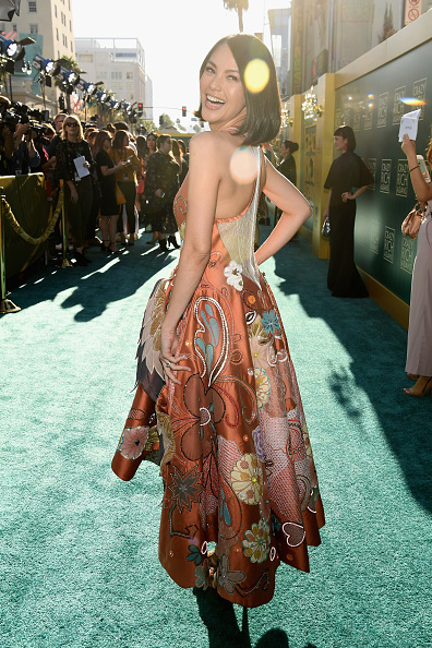 "Alternative Pose「Warner Bros. Pictures' ""Crazy Rich Asians"" Premiere - Red Carpet」:写真・画像(9)[壁紙.com]"