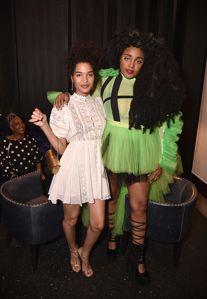 Baby Doll Dress「ELLE & Louis Vuitton Celebrate ELLE Cover Star Indya Moore At Diego At PUBLIC」:写真・画像(6)[壁紙.com]