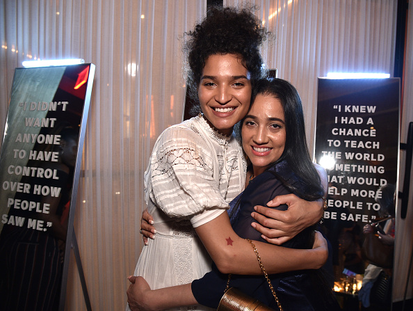 Baby Doll Dress「ELLE & Louis Vuitton Celebrate ELLE Cover Star Indya Moore At Diego At PUBLIC」:写真・画像(2)[壁紙.com]